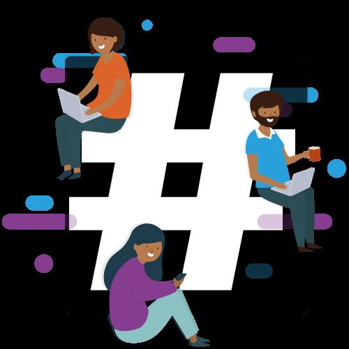 Agence Digitale - Hashtag