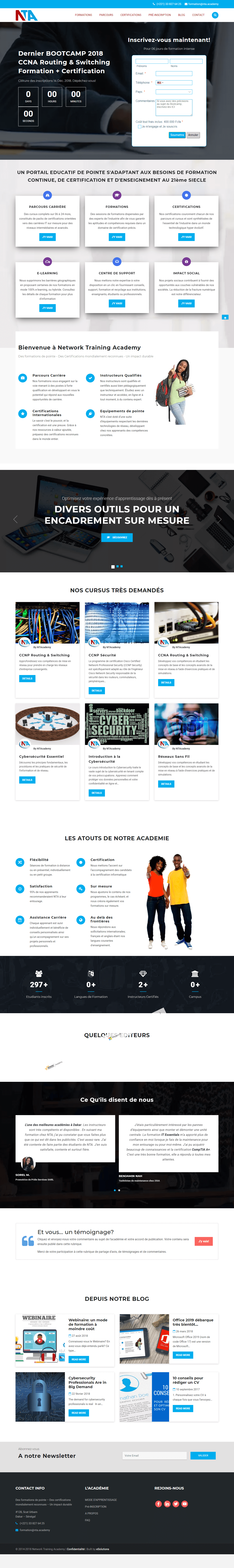 Agence digitale E-SOLUTIONS Portfolio 9